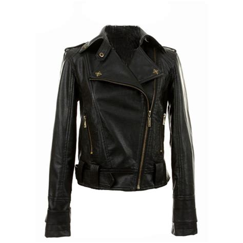 leather jacket womens black leather jackets ebay