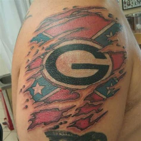 uga tattoos designs 19 best country boy designs images on