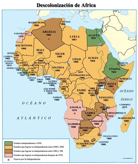 asia y africa mapa mapa descolonizaci 243 n de asia