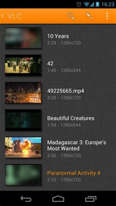 vlc player for apk vlc for android beta apk for android