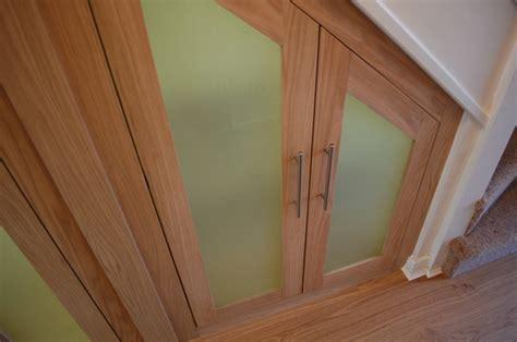 Understairs Cupboard Door - understairs cupboards in white oak harrison