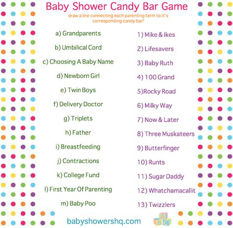 Bar For Baby Shower Printable by Baby Shower Bar Printable Pdf File Answer