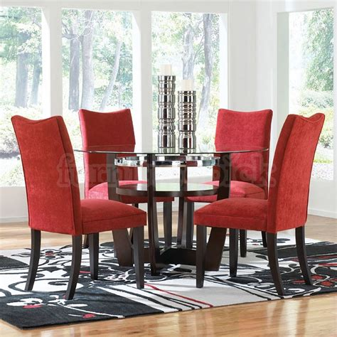 red dining room sets red dining room chairs marceladick com