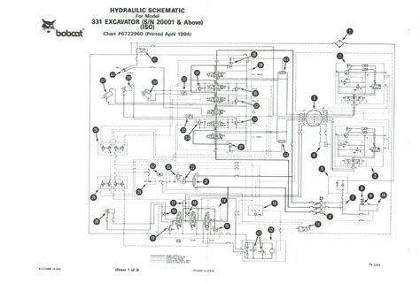bobcat 331 service manual wiring diagrams wiring diagram
