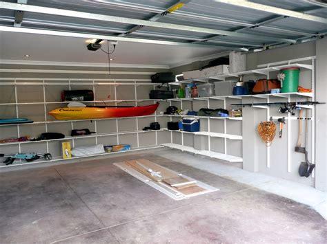 Garage Storage Elfa Elfa Garage Shelving System The Wardrobe Australia