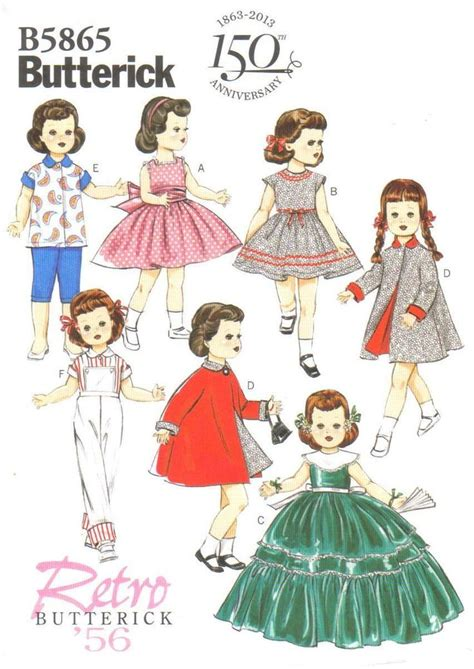 150 best doll clothes patterns images on pinterest 17 best images about pattern book dolls on pinterest