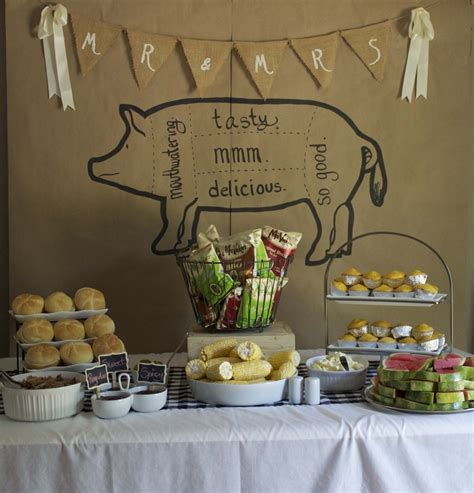 couples wedding shower decorations couples shower ideas i do bbq pear tree