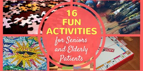 16 activities for seniors and elderly patients nursebuff