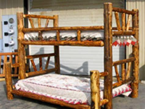 Adirondack Bunk Beds Log Beds Log Bunk Beds Cedar Log Beds Rustic Log Beds