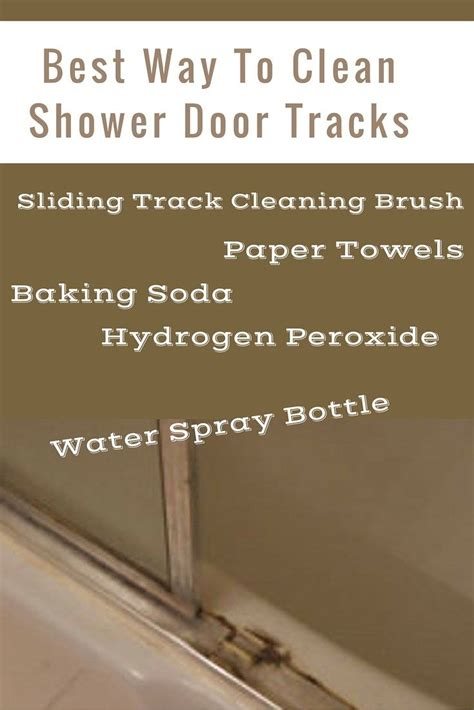 Best Way To Clean A Glass Shower Door 17 Best Ideas About Shower Door Cleaning On Cleaning Glass Shower Doors Cleaning