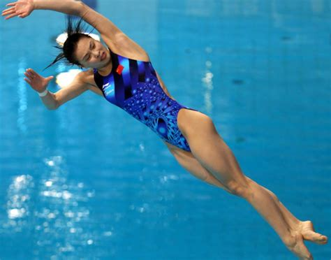 women of sports revealing photos wu minxia photos most revealing olympic outfits ny