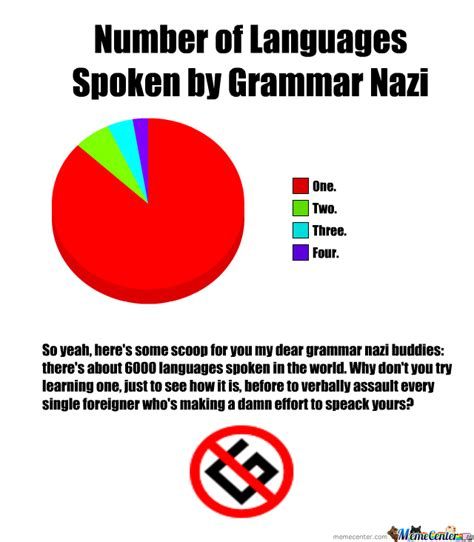 Grammar Nazi Meme - no grammar nazi by symanovitch meme center