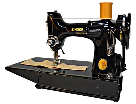 vintage singer featherweight 221 sewing machine sews vintage 1951 singer featherweight sewing machine chairish