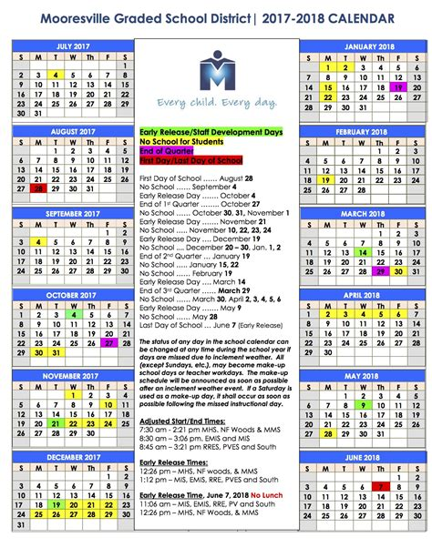 Brevard School Calendar Approved 2017 2018 School Year Calendar