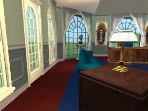 oval office tour the sim white house virtual oval office tour youtube