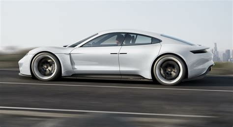 Are Tesla All Electric Porsche Mission E Revealed Hints At All Electric Tesla