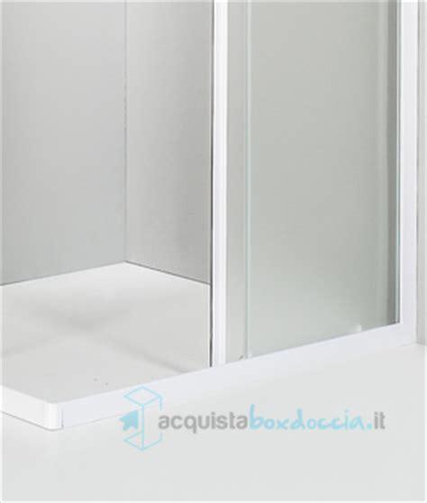 piatti doccia 60x100 box doccia angolare porta scorrevole 60x100 cm opaco bianco
