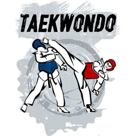 Tshirt Taekwondo Kick Logo Baam taekwondo kick t shirt by valciglione design
