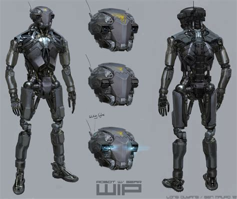 robot design robotics weapons ben mauro design