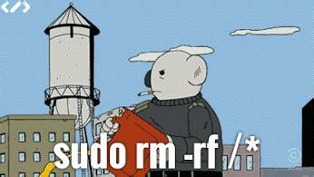 imagenes gif ubuntu un poco de humor gr 225 fico 319 sudo rm rf y el todo en