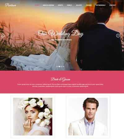 bootstrap templates for wedding free coming soon responsive template webthemez