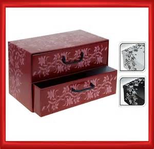italian floral cardboard storage box drawers cabinet unit