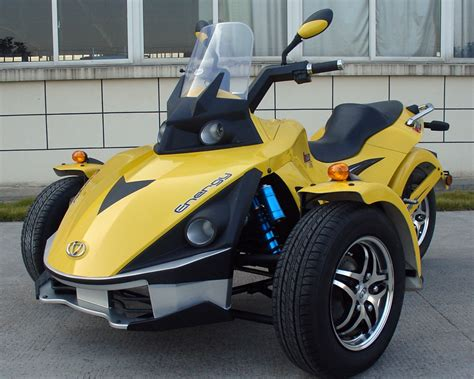 250cc 3 wheel spyder trike automatic