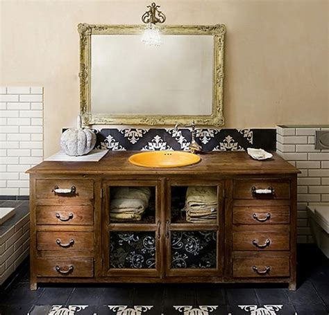repurposed bathroom cabinet cost effective repurposed furniture to outfit your new