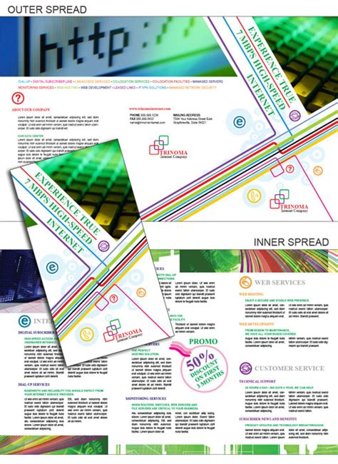 Brochure Templates Indesign Free by Free Indesign Templates Technology Company Brochures
