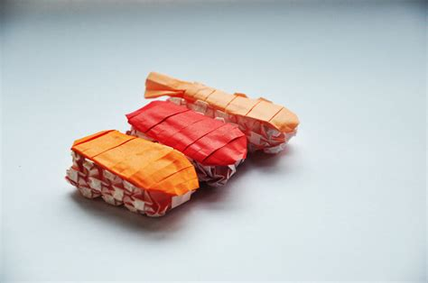 Sushi Origami - this week in origami july 17 2015 edition