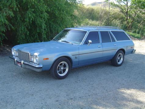 aspen plymouth 1979 plymouth volare wagon 6 auto air solid