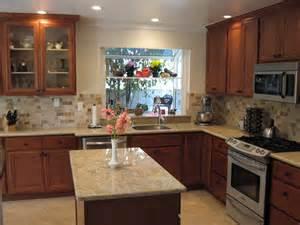 Medium Brown Kitchen Cabinets Ayoub Kitchen 008 Sterley Construction
