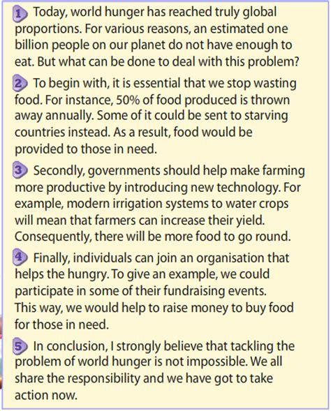 Hunger Solutions Essay fcerosario essays