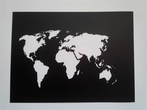 world map stencil world map stencil plastic reusable painting supply wall custom size from yarmart