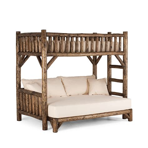 rustic twin bed rustic bunk bed twin full la lune collection