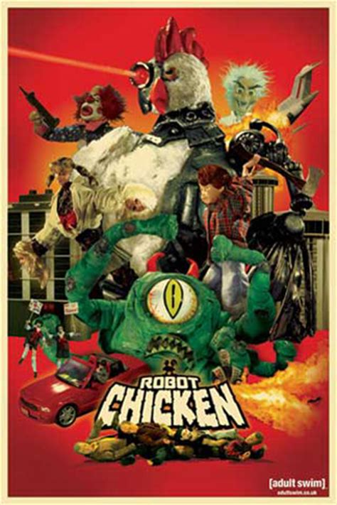 film robot chicken robot chicken disaster movie poster 61x91 5