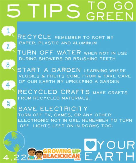 your earth 5 tips to go green gublife