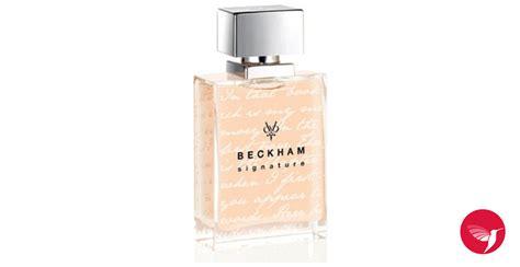 Parfum David Beckham Signature signature story for david beckham perfume a