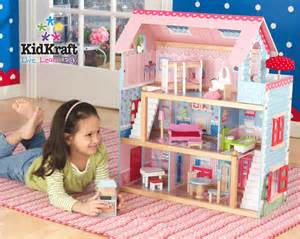 girls doll houses kidkraft chelsea dollhouse with free shipping
