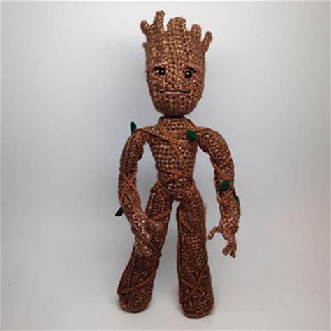 amigurumi pattern groot ravelry i am a tree groot inspired amigurumi pattern