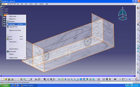 tutorial video catia v5 tutorial car design in catia v5 part1 grabcad