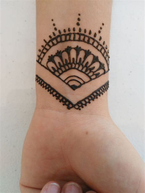 best easy tattoo designs simple wrist my henna tattoos creations henna