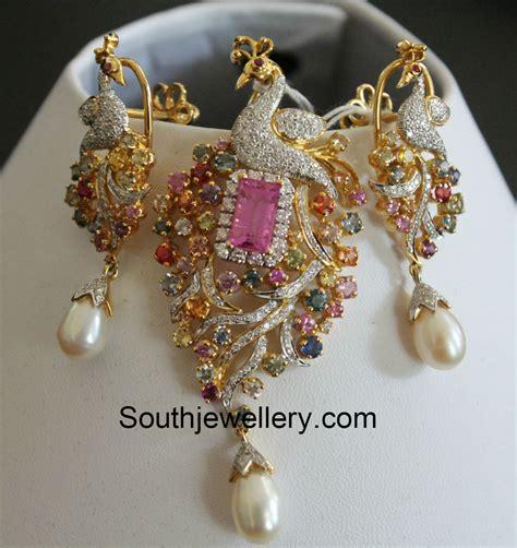 jewelry designs earrings peacock earrings jewelry designs jewellery designs