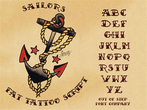 sailor tattoo font 34 beautiful sailor designs and ideas