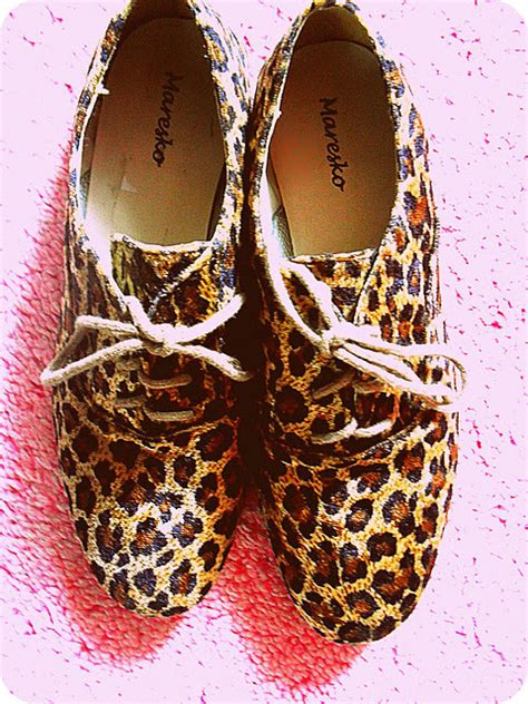 animal print oxford shoes animal print fashion oxford shoes image 350959 on