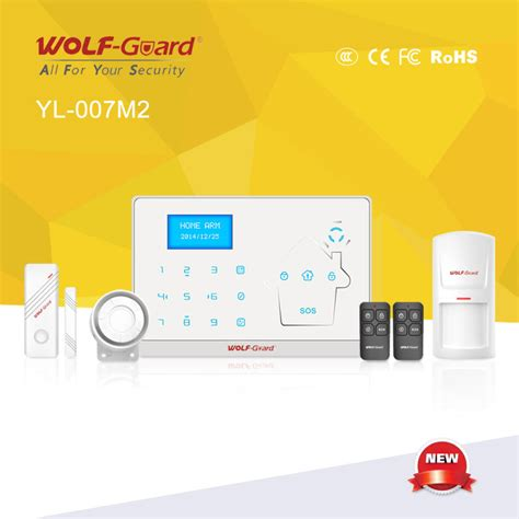 china wireless network home security alarm system