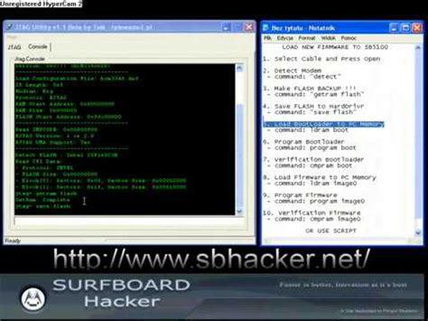 Tutorial Hack Modem | hacking cable modem jtagutility video tutorial youtube