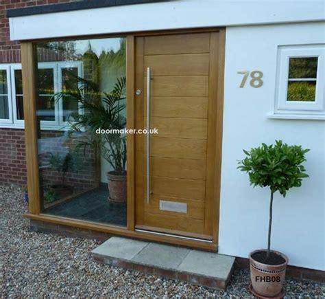 Contemporary Front Doors Oak Iroko And Other Woods Modern Front Doors Uk