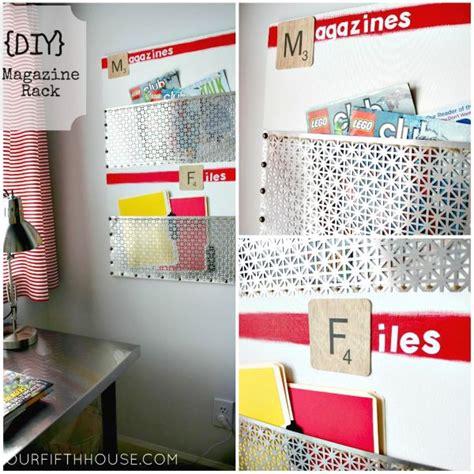 Bathroom Wall Paint Color Ideas 20 Diy Magazine Rack Projects