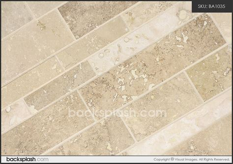travertine subway backsplash travertine subway mosaic backsplash tile